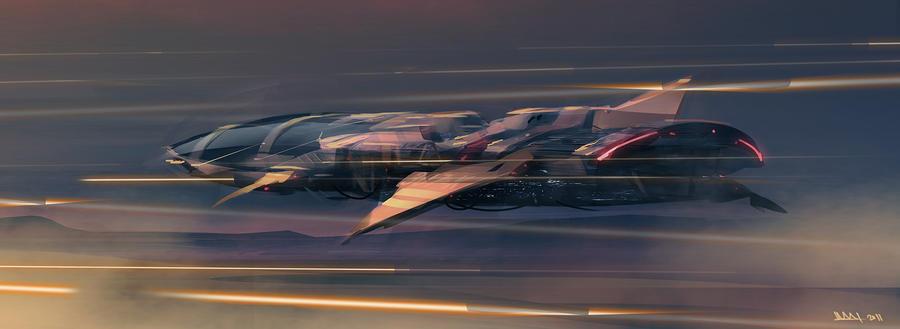 Speed ship 02 by MatLatArt