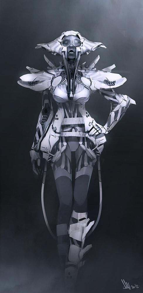 Space Fashion by MatLatArt