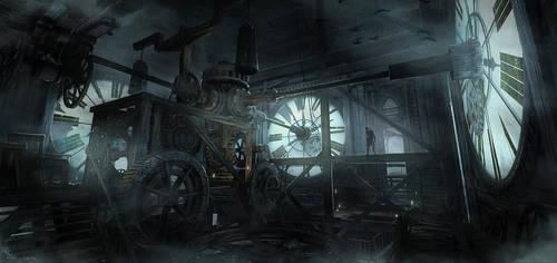 Thief - Clocktower Hideout by MatLatArt