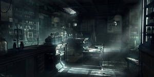 Thief - Dr,Troy's Surgery main floor by MatLatArt