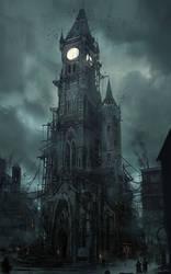 Thief - Clocktower by MatLatArt
