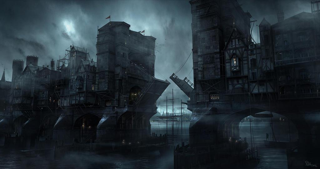 Thief - Bridge by MatLatArt