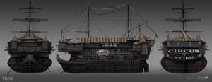 Thief - Vitorri Circus Model sheet