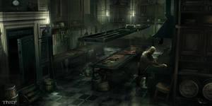 Thief - Architect Mansion Kitchen
