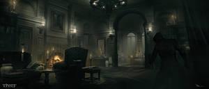Thief - Architect Mansion Llivingroom by MatLatArt