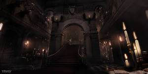 Thief - Baron Mansion Central Stairs