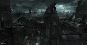 Thief - Greystone to Square Market vista by MatLatArt