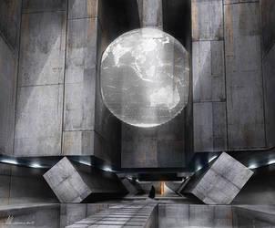 EXO 01 - Temple Entrance by MatLatArt
