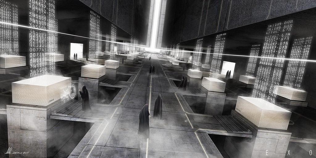 EXO 02 - Memory Cube by MatLatArt