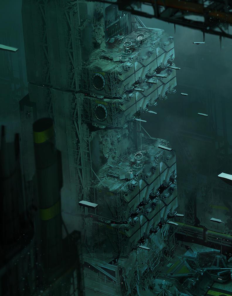 Escape Pods by MatLatArt