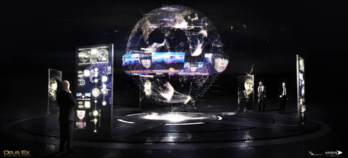 Deus Ex Mankind Divided - Illuminati Room by MatLatArt