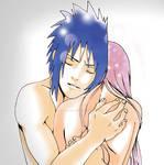 Sasuke embrace
