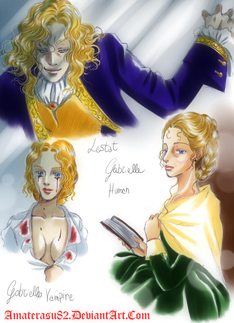 lestat and gabrielle relationship