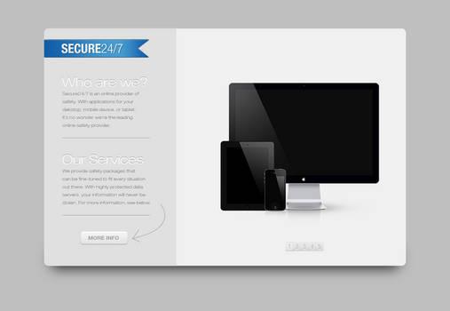 Secure24 7 Website