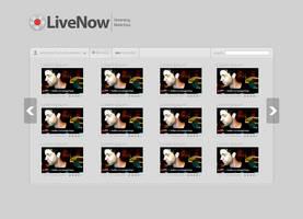 LiveNow Website Design