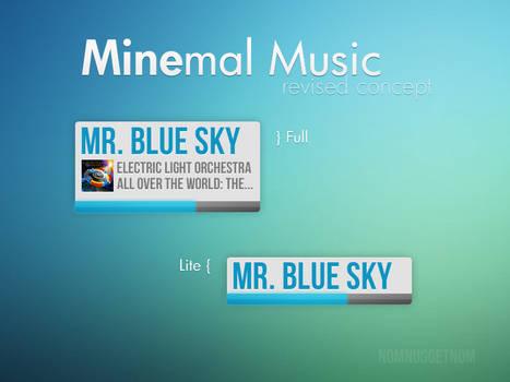 Minemal Music - Revised Concept