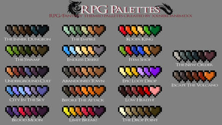 Free RPG Palettes