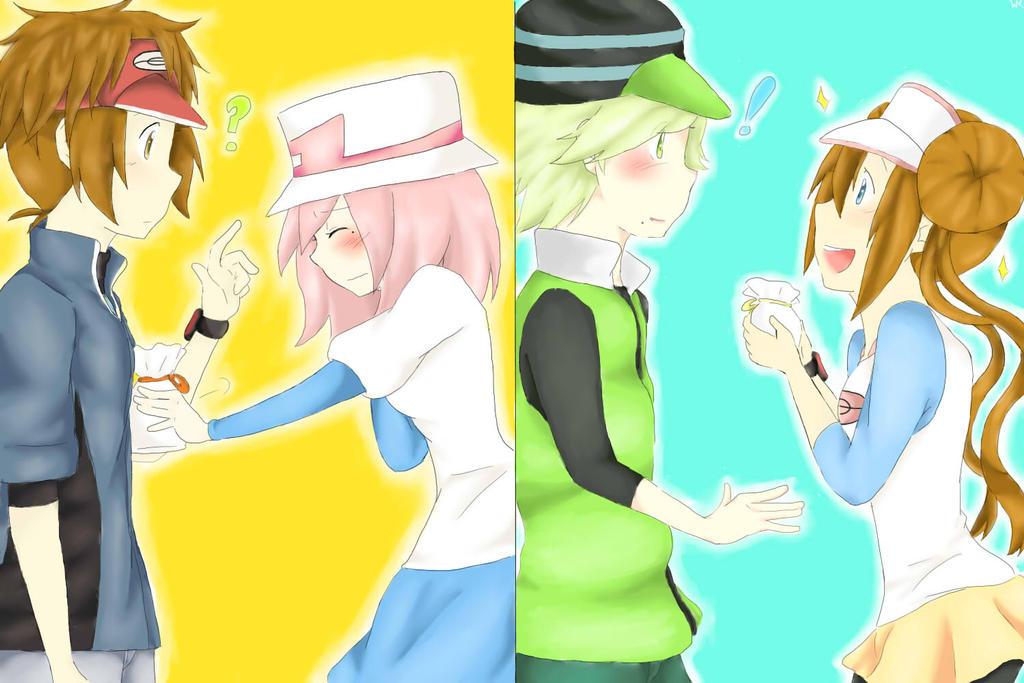 Pokemon nate x yancy lemon