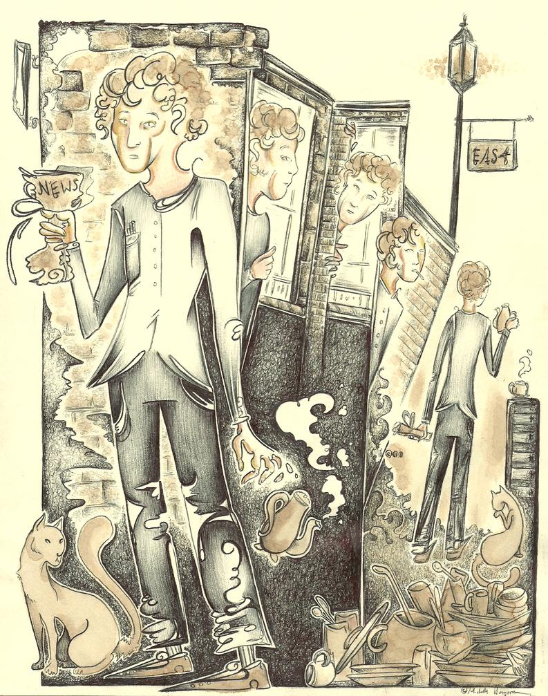 The Clock Interpreter by MichelleBergeron