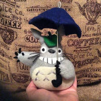 Totoro (felt doll)