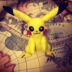 Pikachu (felt doll)