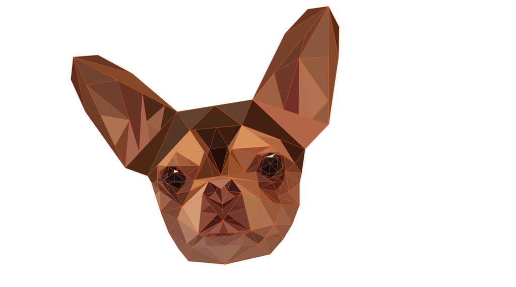 Chihuahua Poly Vector by 21giants