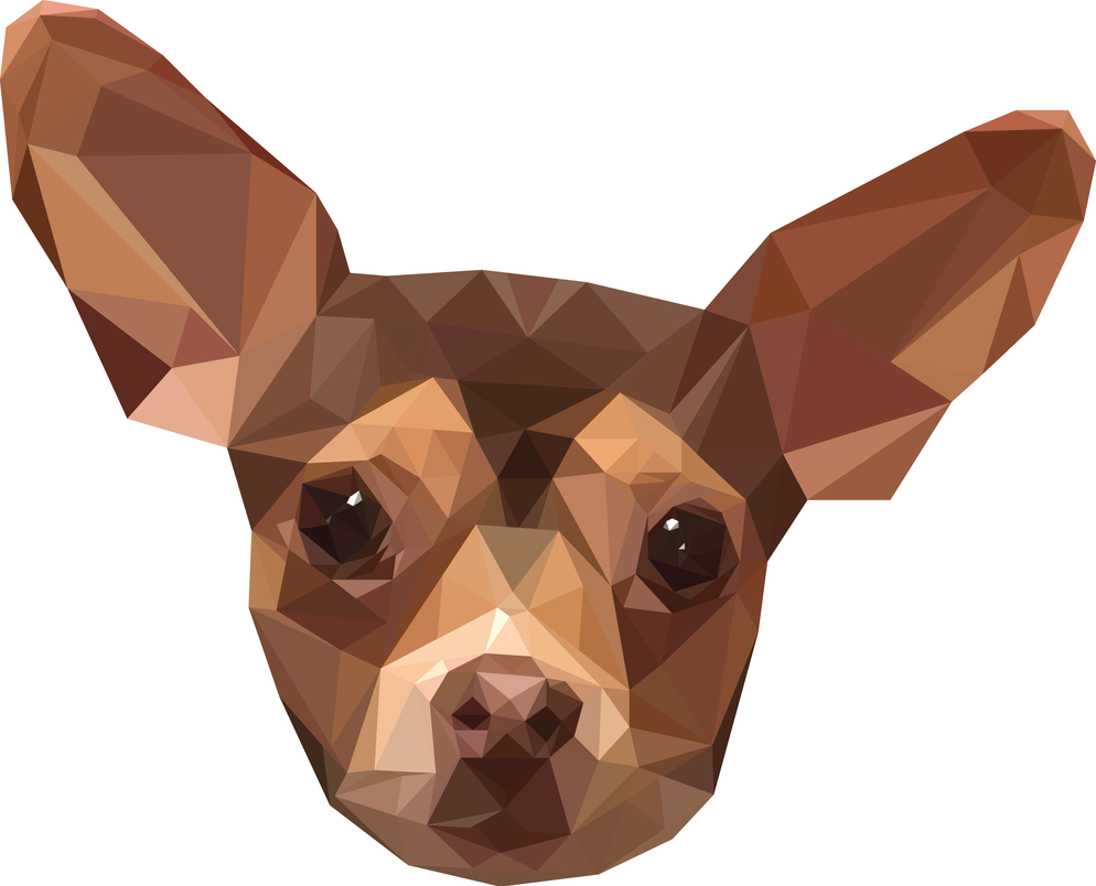 Chihuahua Poly Vector #2 by 21giants
