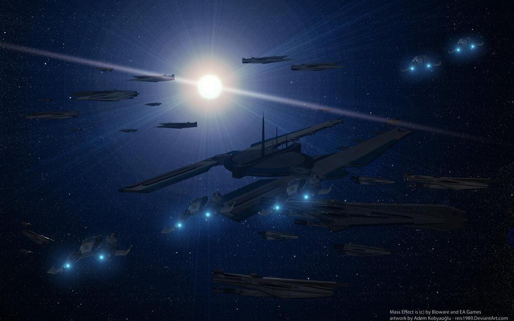 Systems Alliance Arcturus Fleet by reis1989