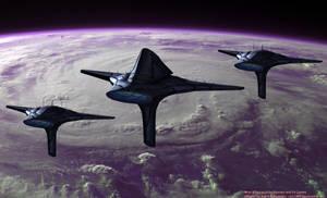 Asari Fleet Patrol
