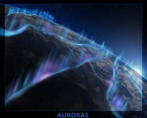 Close Up Planet #7 - Cold Auroras
