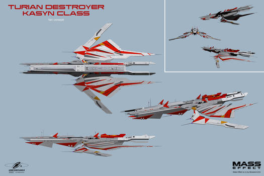 Turian Destroyer Kasyn Class