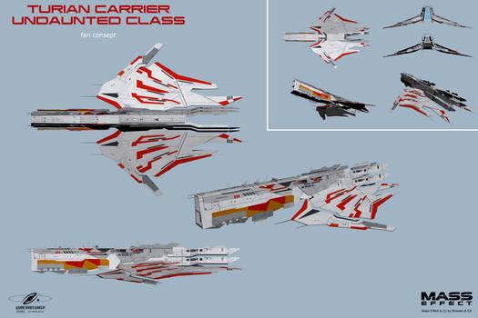 Turian Carrier Undaunted Class