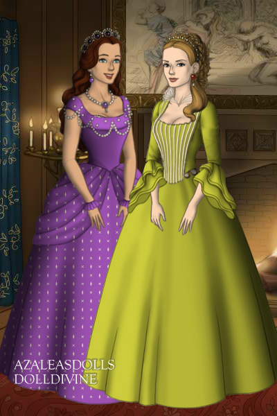 Sofia the first and Princess Amber by girldolphin91 on DeviantArt