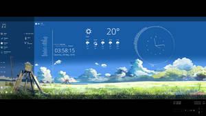 Rainmeter: Simplistic