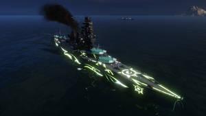 World of Warships: ARP Kirishima