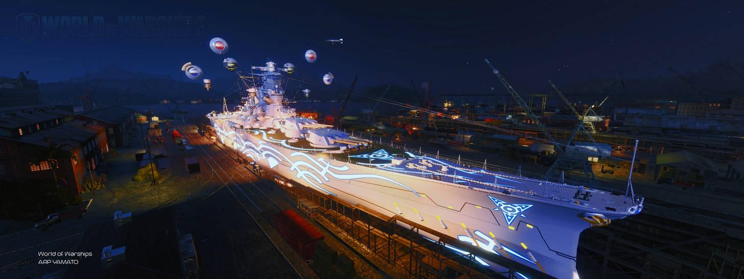 World of Warships: ARP Yamato - Naval Base by PH