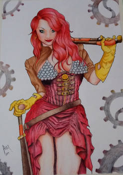 Red Sonja (steampunk)