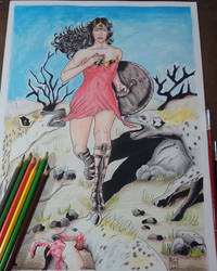 Wonder Woman(Original ART)