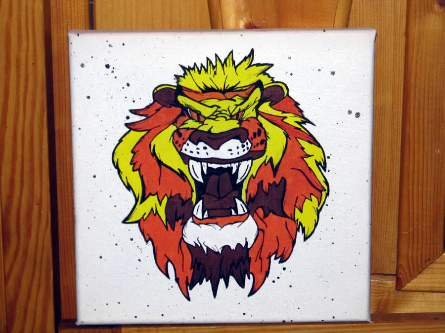 lion by sirdonmoridzio