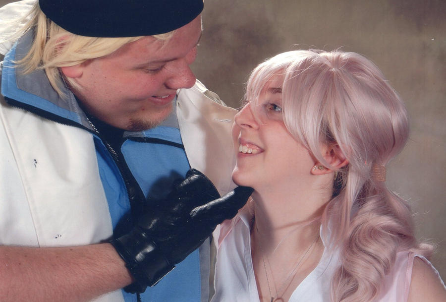 Snow and Serah by metalsummer