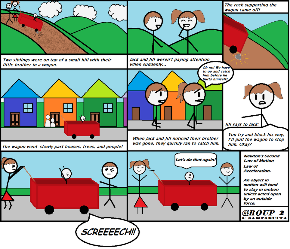 Newton s third law - Law Of Acceleration Now This Is A Comic Strip Idk By