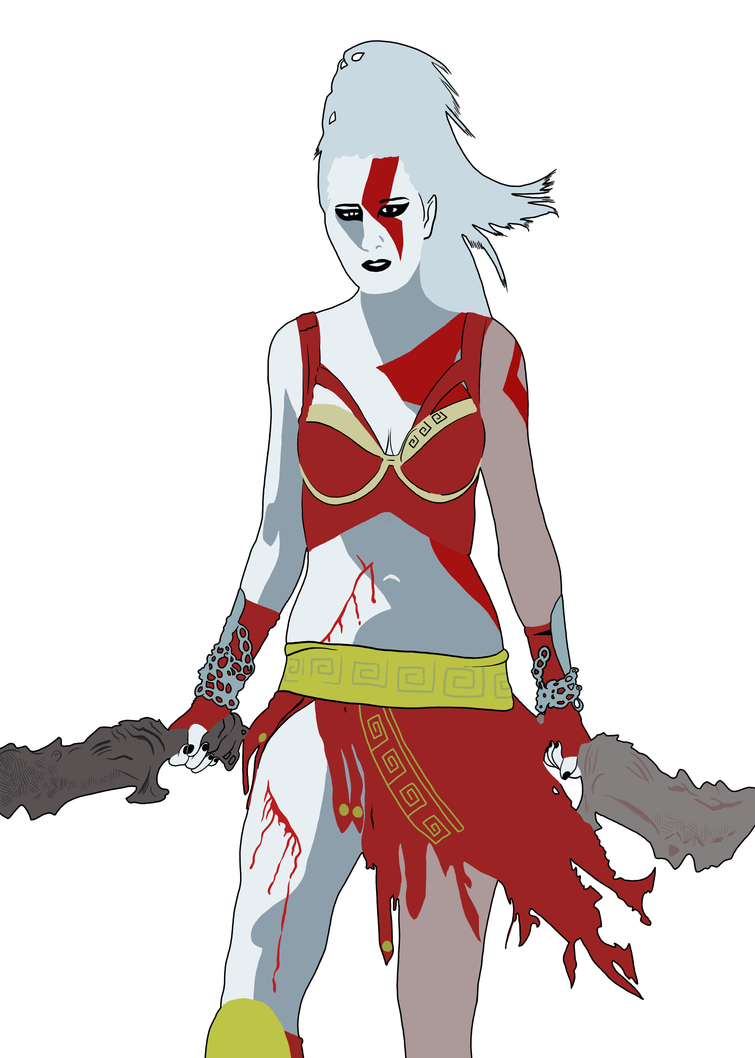 Lady Kratos by Stealalive