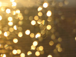 gold bokeh by excentric