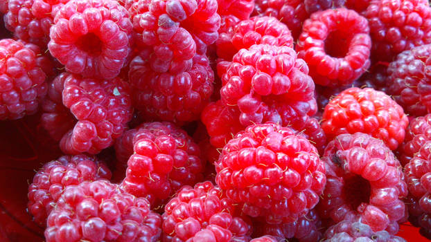 stock: raspberries