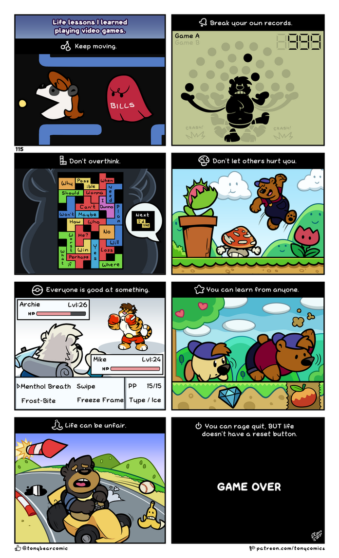 Video Games by TonyBearComic