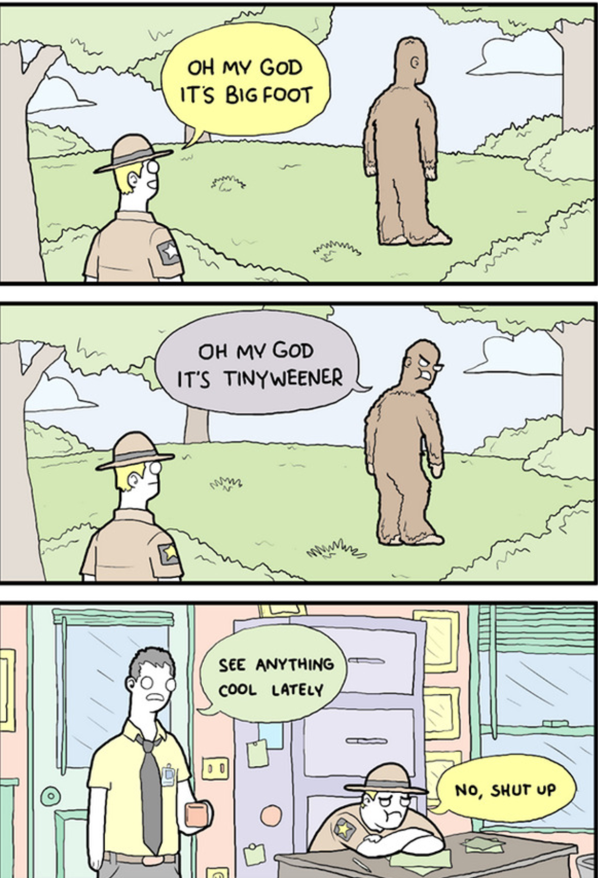 Fucked Up Bigfoot By Animation Sissy On Deviantart