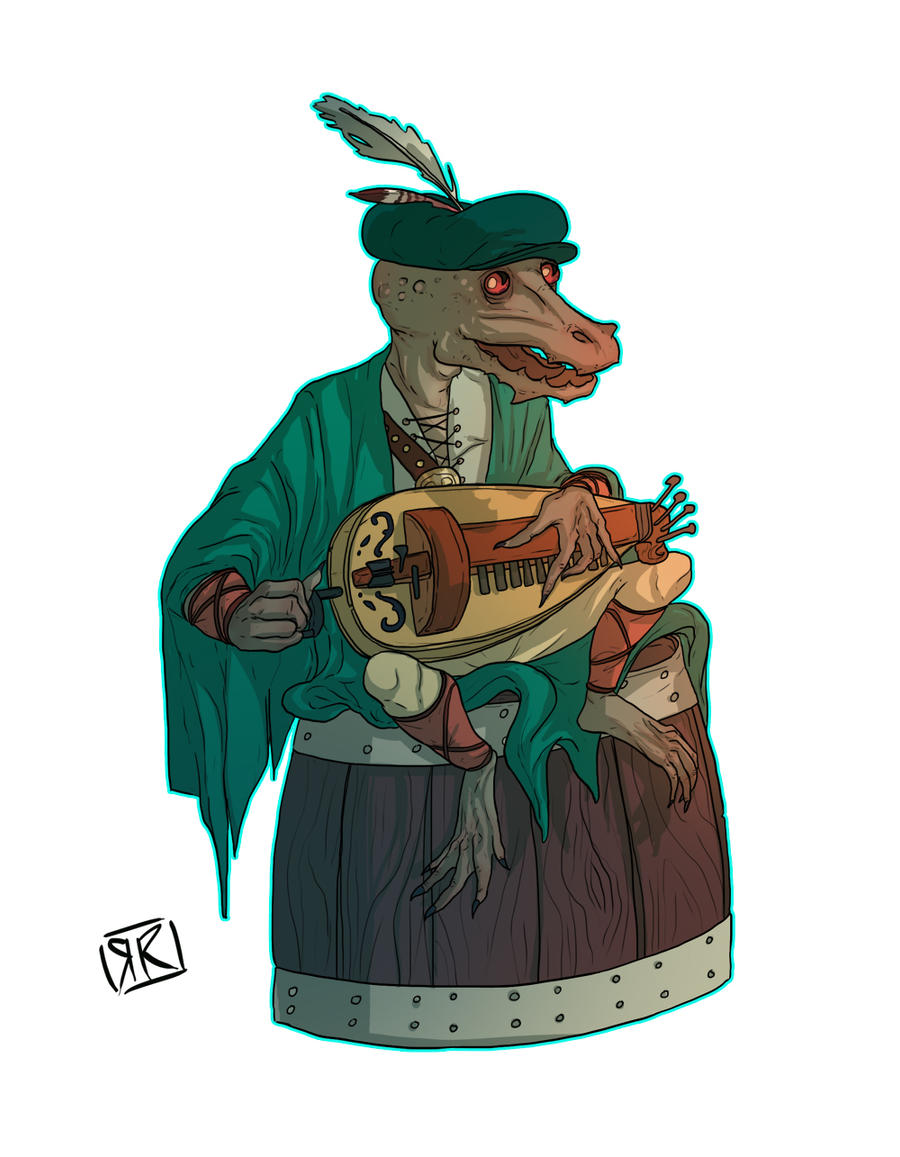 Kobold Bard by Ryan-Rhodes