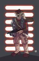 Besalisk Bounty Hunter by Ryan-Rhodes