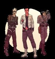 SW RPG Trio by Ryan-Rhodes