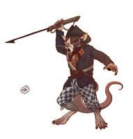 Ratfolk Pirate